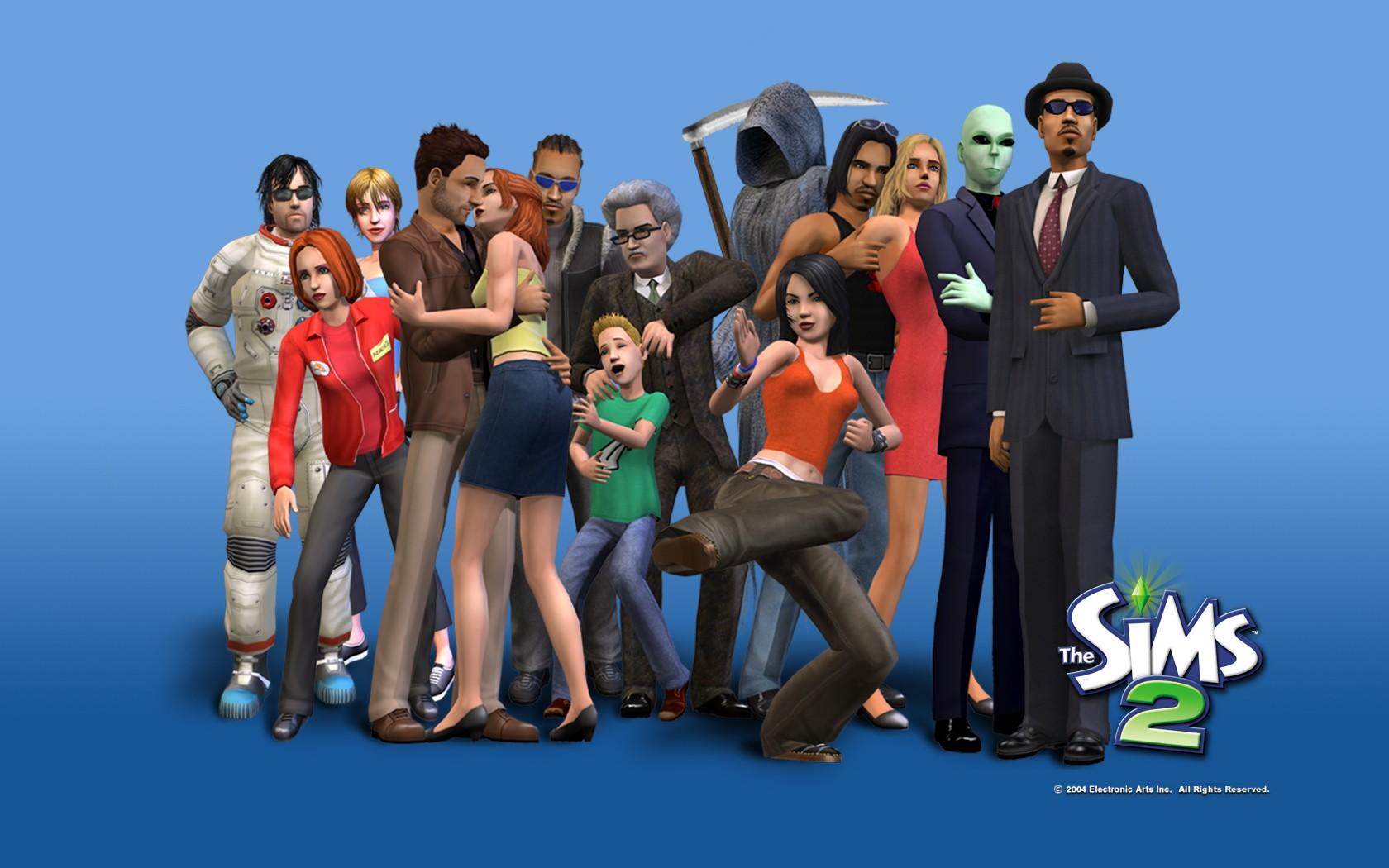 Семья в симс sims 2 смерь с косой все