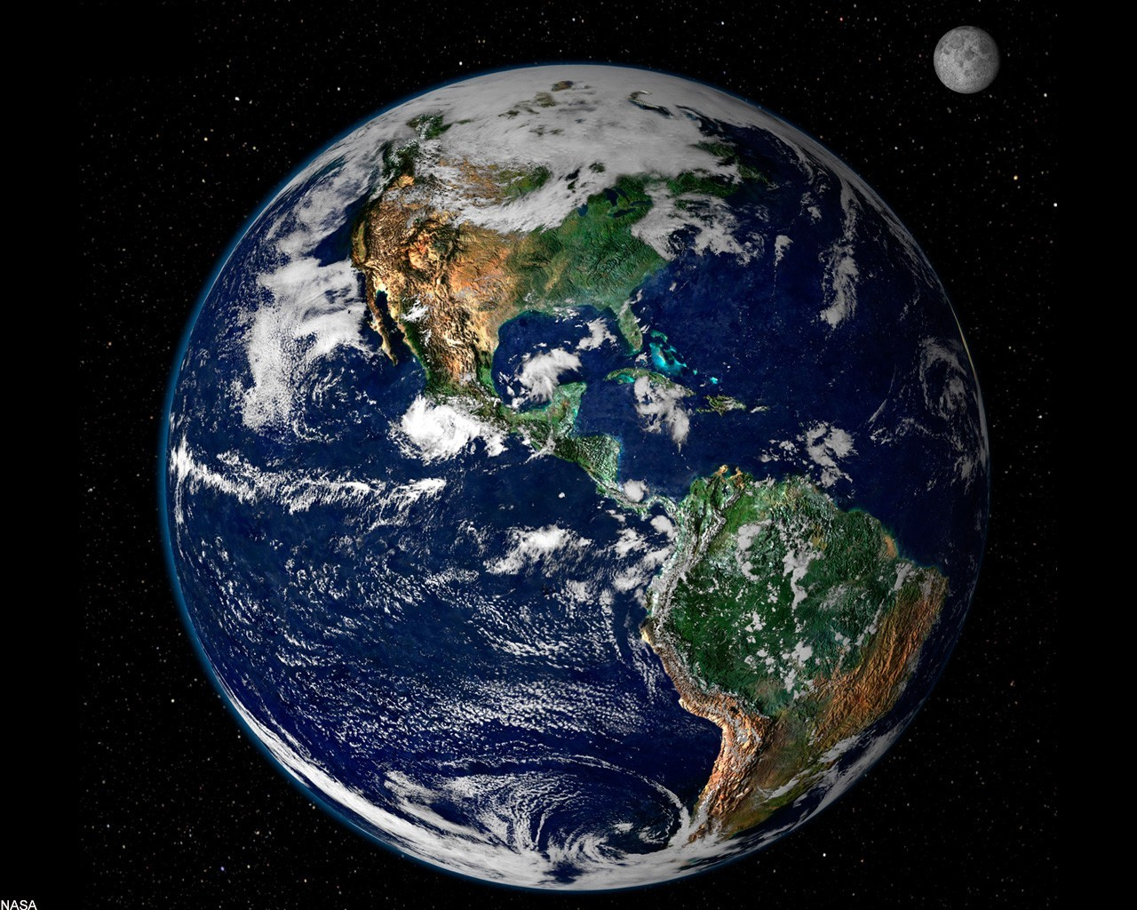 Планета земля из космоса обои фото