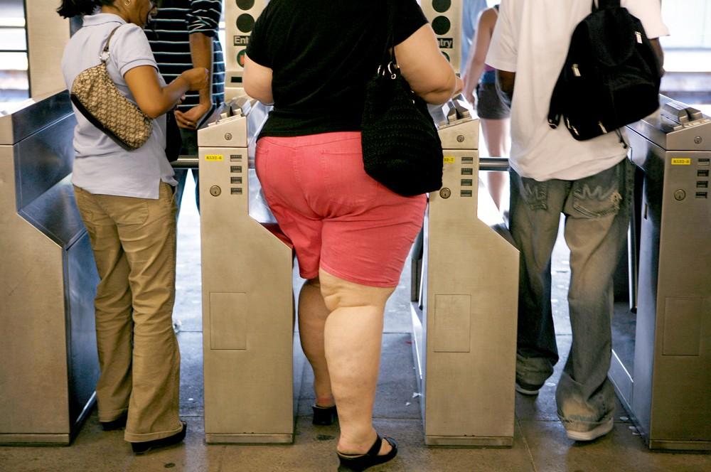 Девушка толстуха