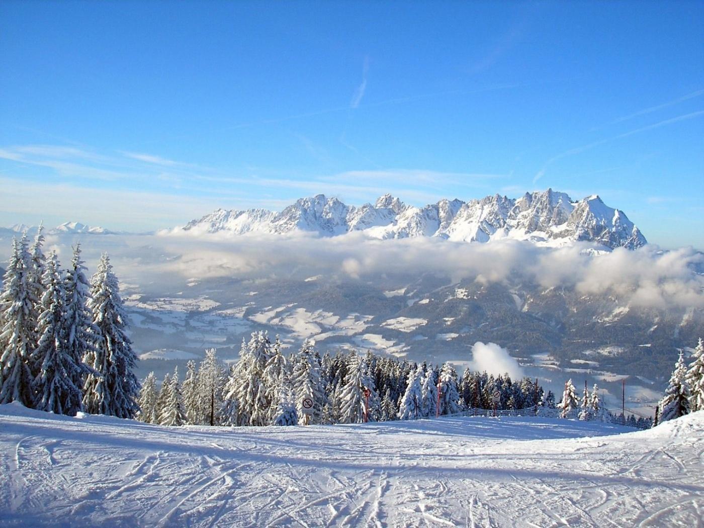 Зимние пейзажи обои (картинки, фото), рамантическое место для ...