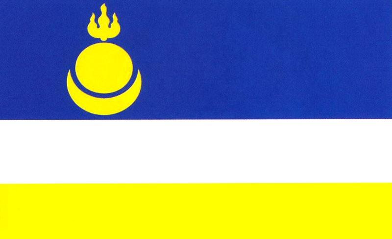 флаг бурятии