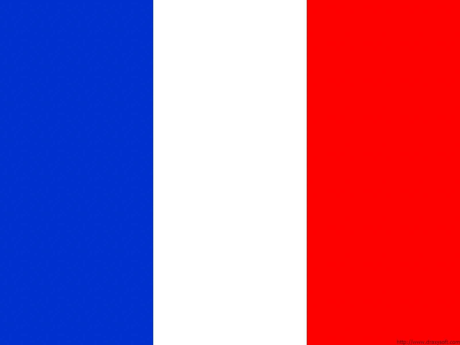 Флаг франции сине бело крассный