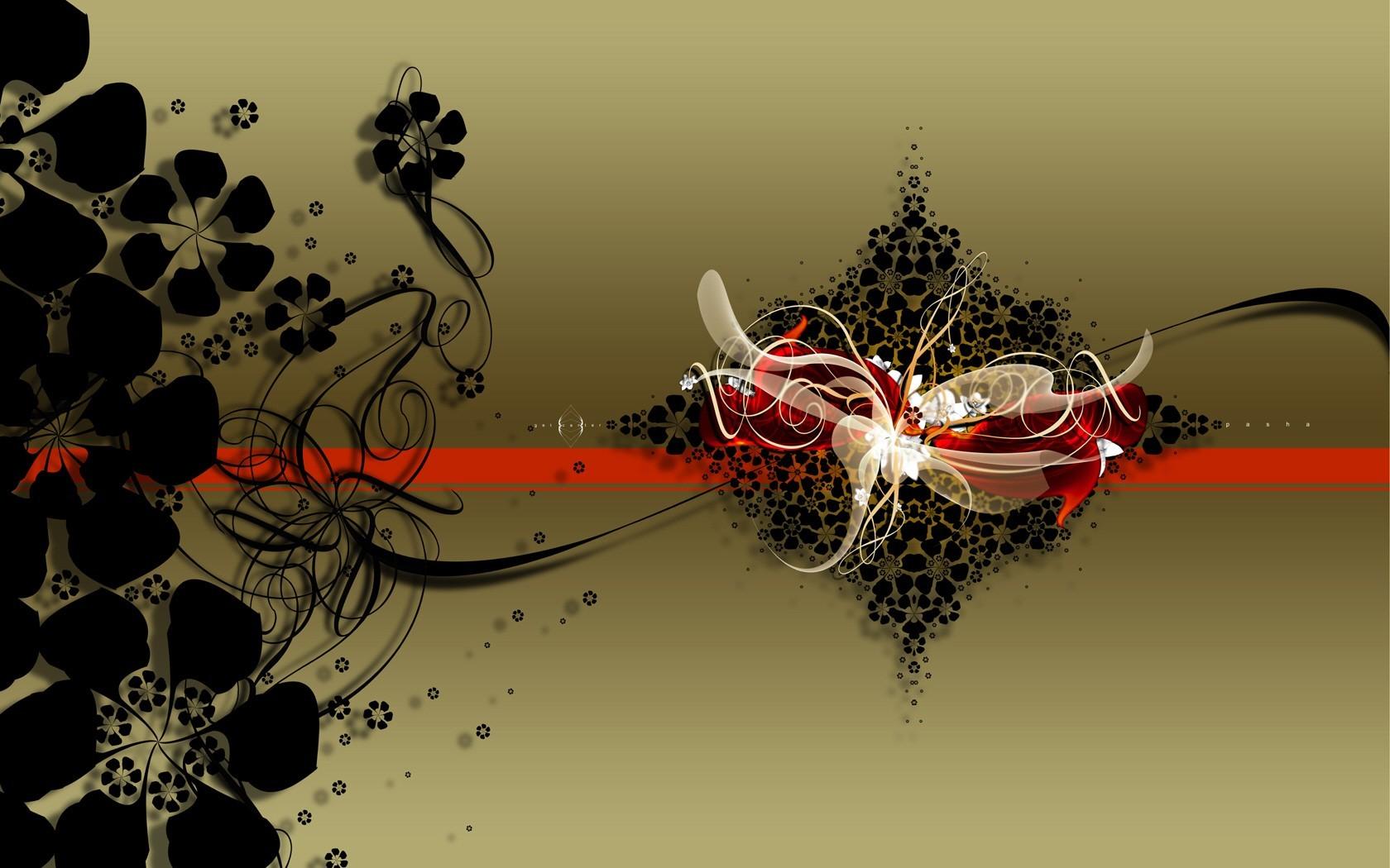 Взрыв цветов красивая абстракция