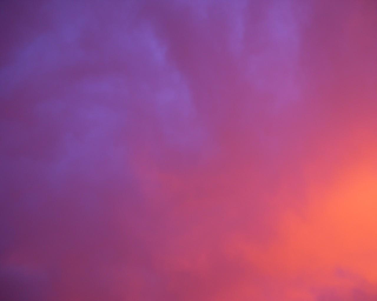 Фиолетовое небо небо ультрафиолет