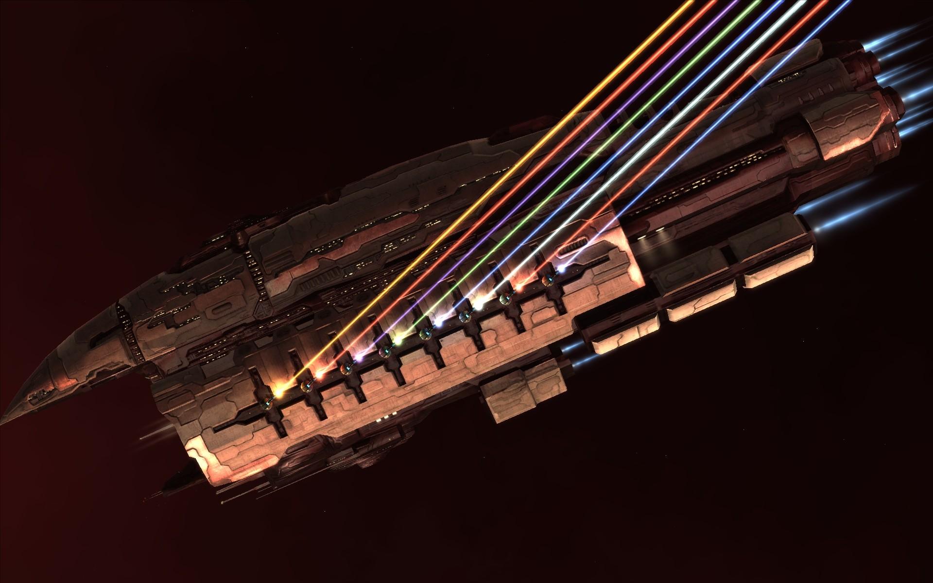 Обои космический корабль оружие